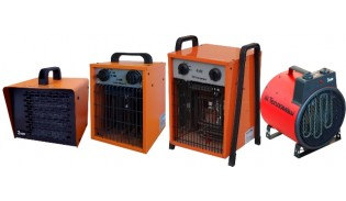 Тепловентиляторы электрические малой мощности 2-6 кВт