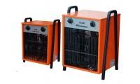 Тепловентиляторы электрические средней мощности 9-18 кВт