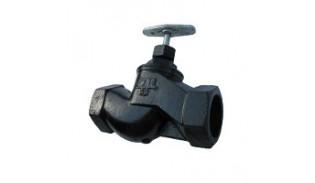 Клапан запорный (вентиль) чугунный 15кч18п