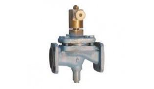 Клапан запорный электромагнитный 15кч888р СВМ